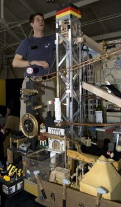 The Purdue Rube Goldberg Burger-Making Machine